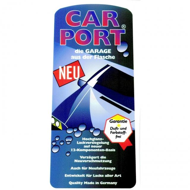 CAR PORT - leštěnka / konzervační vosk - testovací vzorek