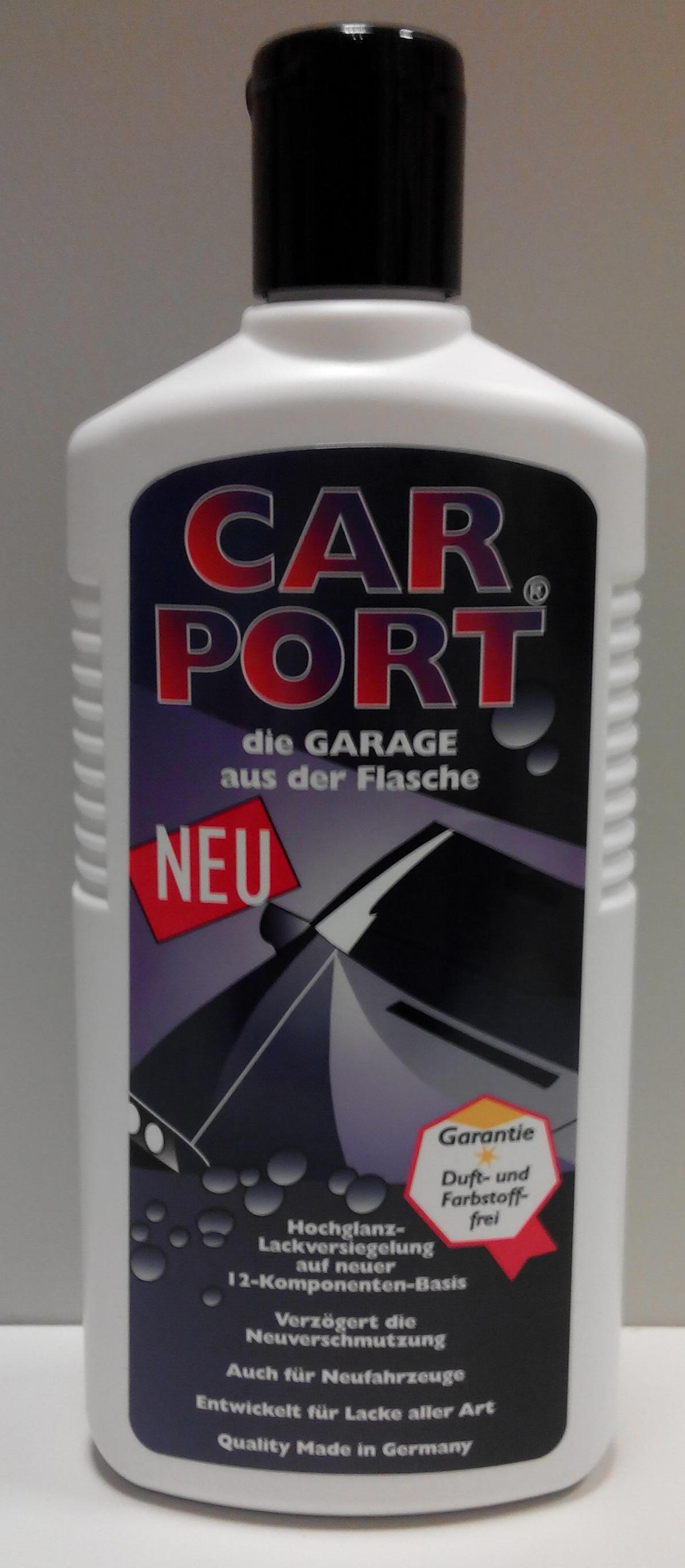 CAR PORT - leštěnka / konzervační vosk